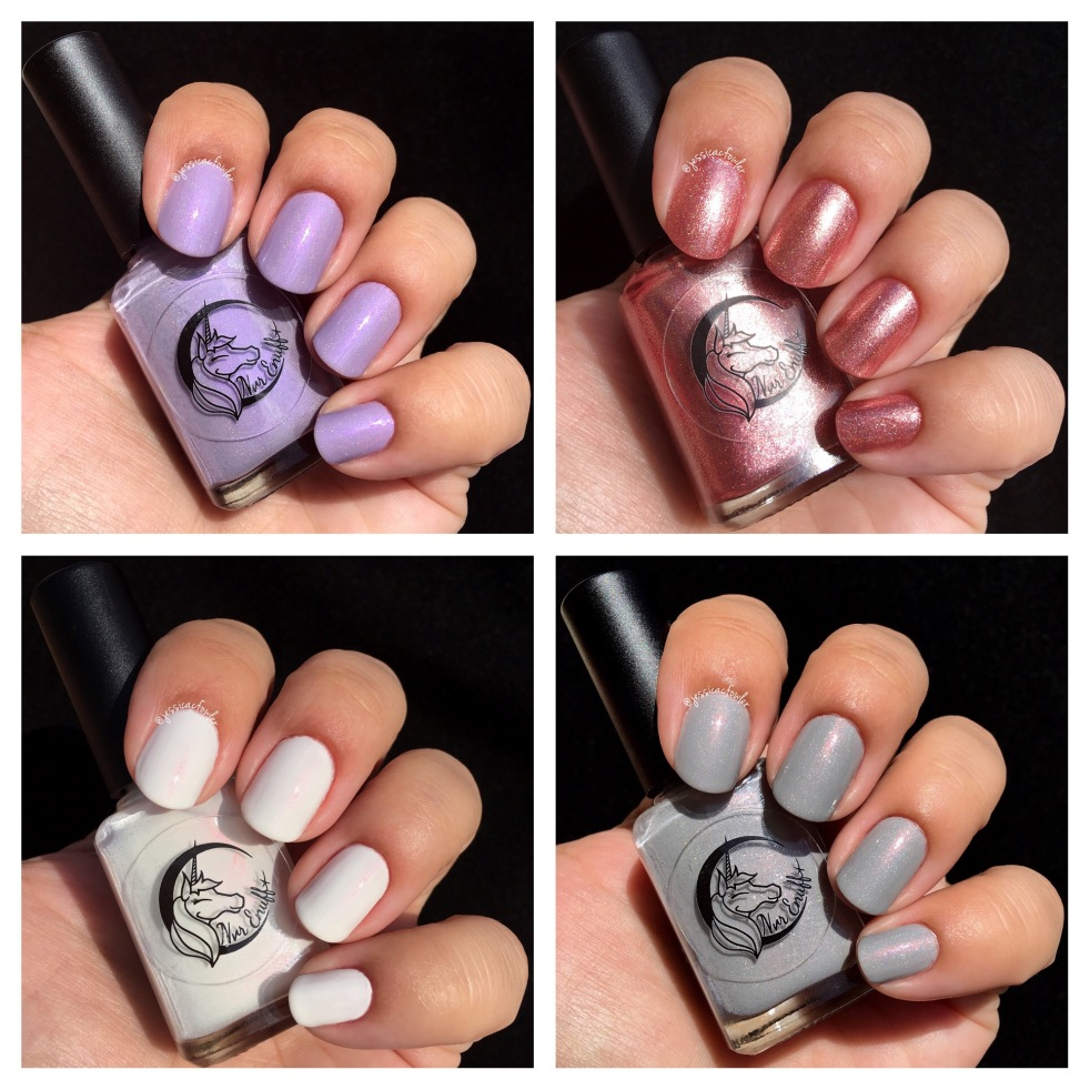 Nvr Enuff Polish: The Violet Collection – Jessica C Fowler
