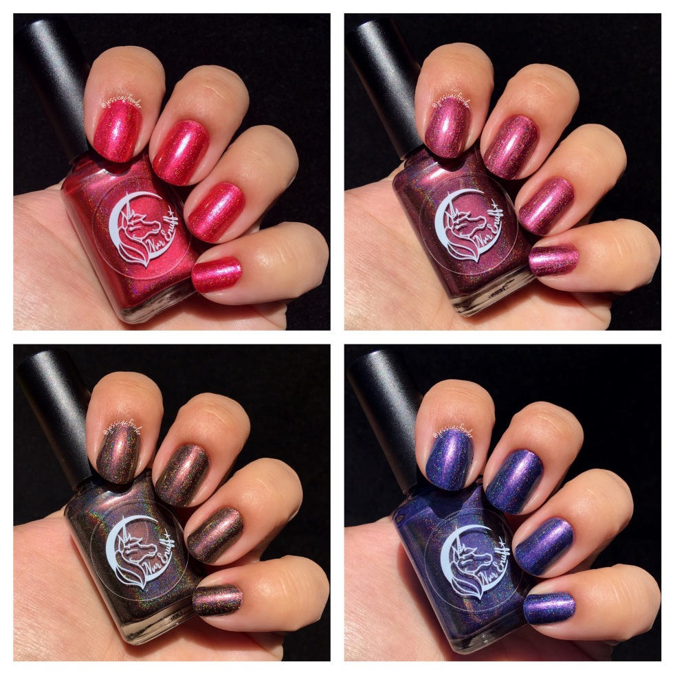 Nvr Enuff Polish: The ChroMetallic Collection